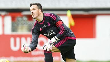 Aberdeen goalkeeper Jamie Langfield enjoyed his testimonial match