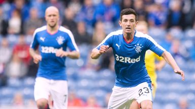 Jason Holt has already played in a pre-season friendly for Rangers