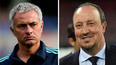 Jose Mourinho, Rafa Benitez