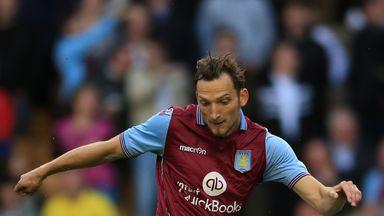 Libor Kozak's brace was not enough to give Aston Villa a West Midlands derby win