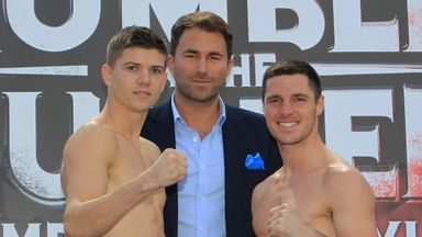 Luke Campbell and Tommy Coyle breezed through the weigh-in