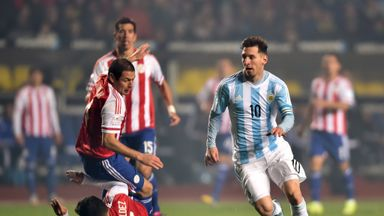 Lionel Messi: Waltzes through the Paraguay defence