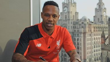 Nathaniel Clyne: Has completed his move from Southampton to Liverpool