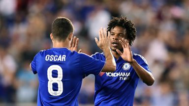 Loic Remy (right) is targeting a regular spot in Jose Mourinho