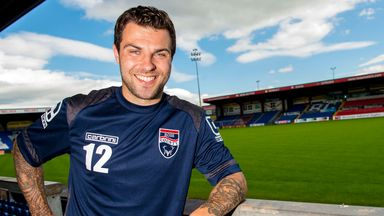 Ross County right-back Richard Foster