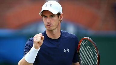 Andy Murray's first Washington Open opponent will be decided on Monday