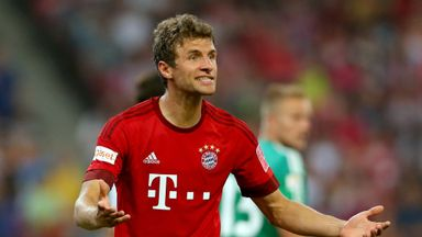Thomas Muller found the target again for Bayern Munich at the weekend