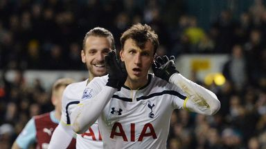 Vlad Chiriches is in Italy to seal a move to Napoli
