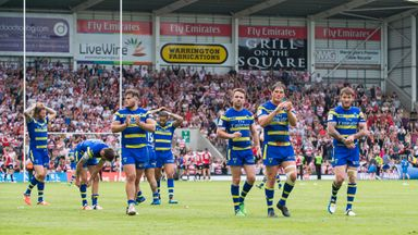 Warrington: Play on Thursday after beating Leigh on Saturday