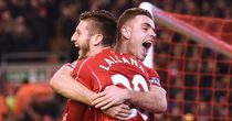 Jordan Henderson and Adam Lallana: Could both miss out for Liverpool