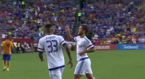 Hazard's sensational solo goal
