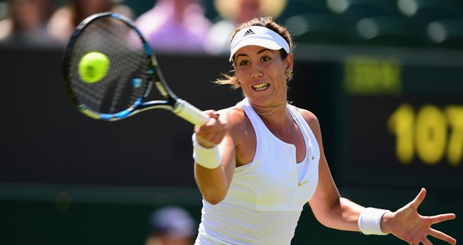Garbine Muguruza: Beaten finalist at Wimbledon earlier this year