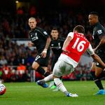 Aaron Ramsey: Had goal incorrectly disallowed against Liverpool