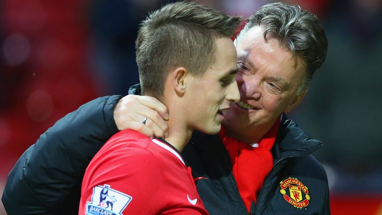 Louis van Gaal is ready to offer Adnan Januzaj a second chance