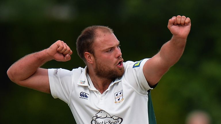 Joe Leach rattled through Northants' top order