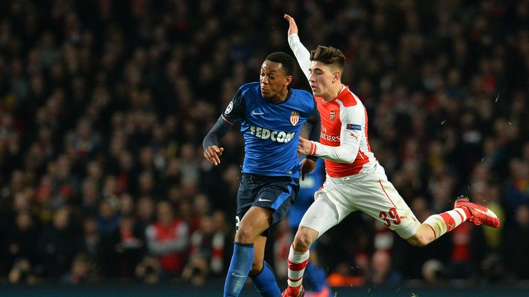 Martial impressed against Hector Bellerin and Arsenal at the Emirates Stadium
