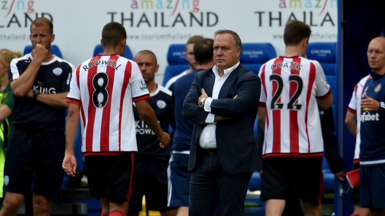 Sunderland were easily beaten at Leicester last weekend