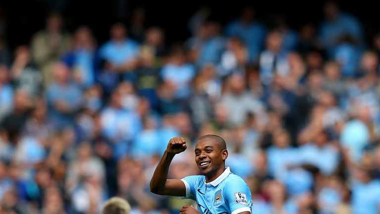 Fernandinho put the hosts out of reach in the 56th minutes