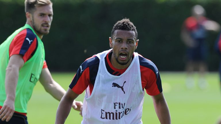 Francis Coquelin has impressed in midfield but options are limited