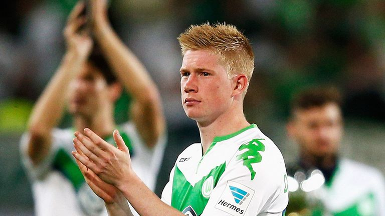 De Bruyne won the Bundesliga Player of the Year award for the 2014/15 season