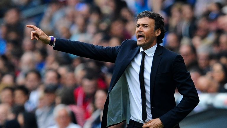 Luis Enrique won the treble in his first season as Barcelona boss in 2014/15
