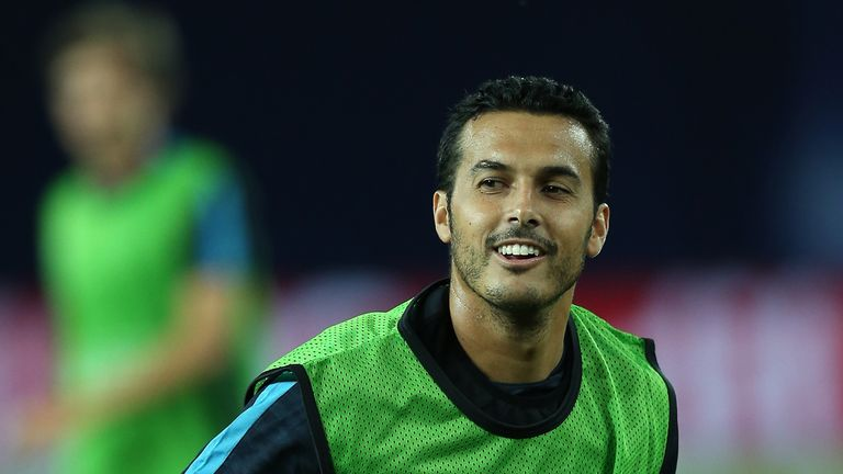 Pedro has moved to Chelsea after 11 years at Barcelona