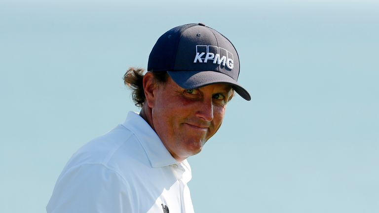 Phil Mickelson has not won since his memorable Open triumph in 2013