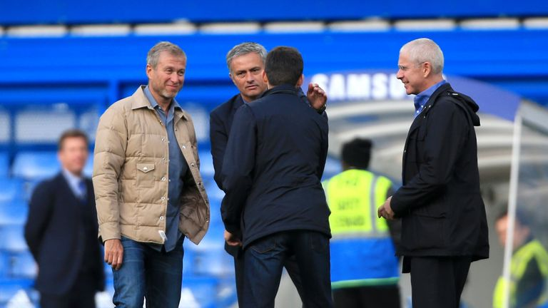 Image result for Abramovich Chelsea Mourinho