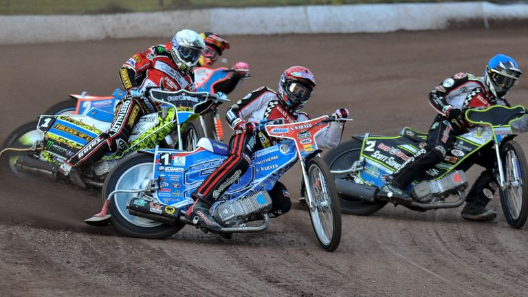 Max Fricke (Blue) could be key to the Aces' season