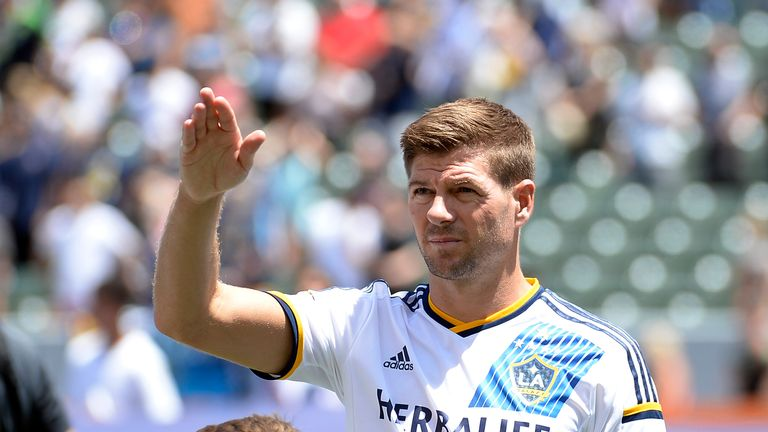 Steven Gerrard of LA Galaxy is among the big names currently playing in the MLS