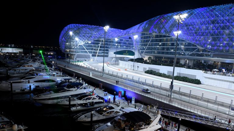 After 18 races the season reaches its climax at the yas marina