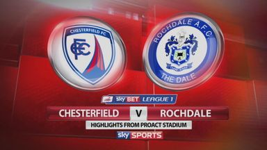 Chesterfield 0-0 Rochdale