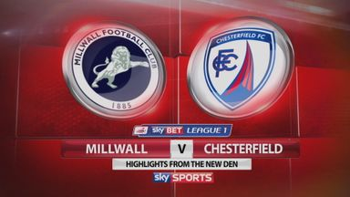 Millwall 0-2 Chesterfield