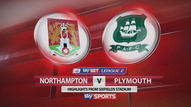 Northampton 0-2 Plymouth