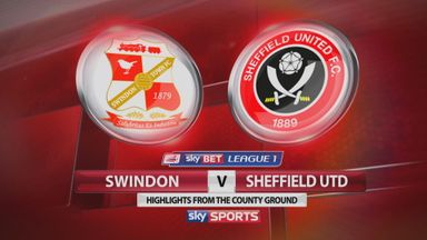 Swindon 0-2 Sheffield United
