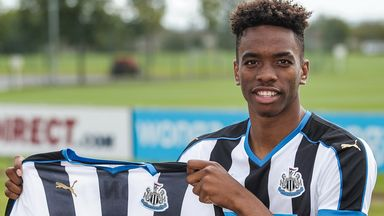 Ivan Toney: Joins Barnsley on loan from Newcastle