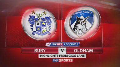 Bury 1-1 Oldham