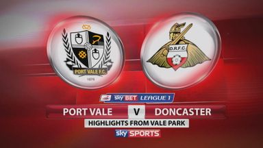 Port Vale 3-0 Doncaster
