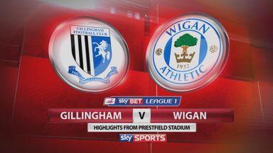 Gillingham 2-0 Wigan