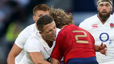 Sam Burgess will need to tackle his heart out for England says Dewi
