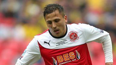 Antoni Sarcevic: Has anounced he is leaving Fleetwood Town