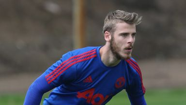 David de Gea has been named in Manchester United's Champions League squad