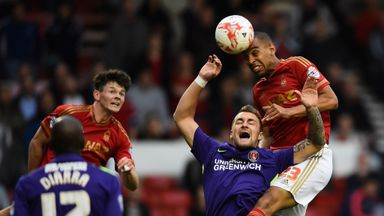 Dexter Blackstock is battling to be fit for Forest