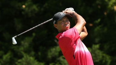Woods enjoyed his best 72-hole score since the 2013 BMW Championship