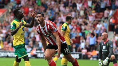 Southampton's Graziano Pelle celebrates scoring his side's first goal