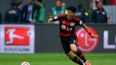 Heung-Min Son is joining Spurs from Bayer Leverkusen