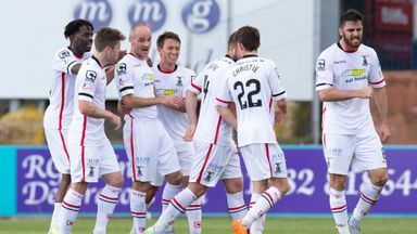 Inverness CT's David Raven (third left) could return to the team this weekend
