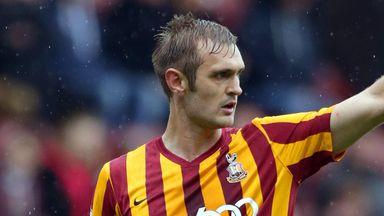 James Hanson: Could return for Bradford