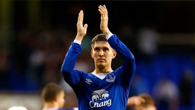John Stones greeted the Everton fans at the weekend despite a mixed reaction since his transfer request