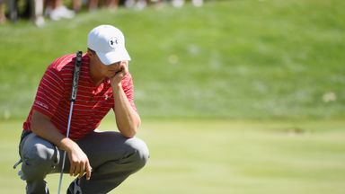 Jordan Spieth has missed his first cut since May's Players Championship